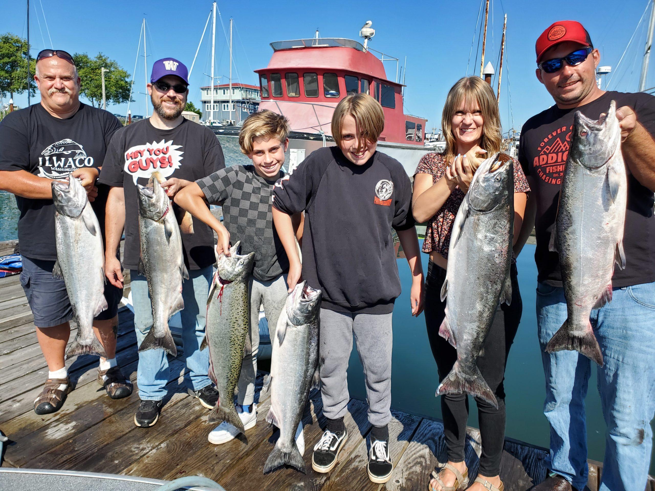 Gone Catchin - Cameron Black Oregon Fishing Guide 2